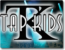 Tap Kids logo shadox box