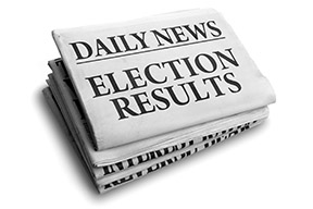 election results paper web