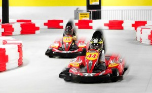 Thunderbolt Indoor Karting Racers