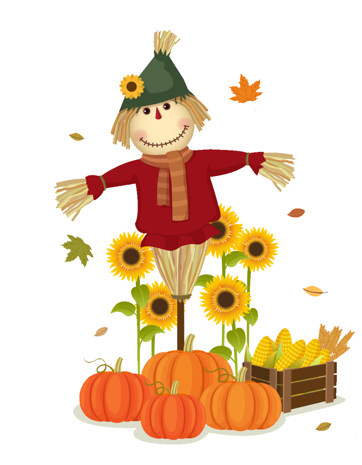 Harvest Happenings Scarecrow