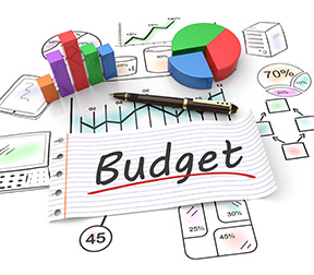 budget desk elements web